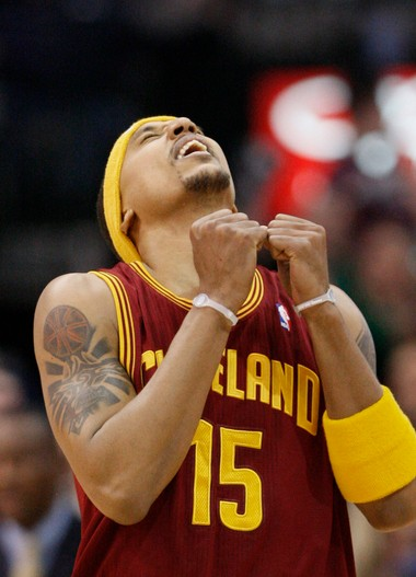 Jamario Moon was the first of a long line of small forwards to play for the Cavs after LeBron James left for Miami.
