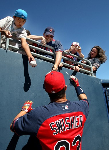 Nick Swisher helped change the Tribe's losing culture.