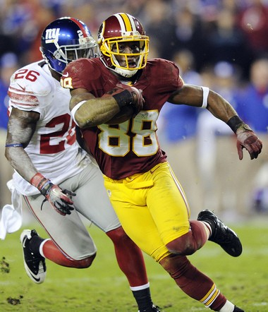 Mount Union's Pierre Garcon was a sixth-round pick, yet he led the NFL with 113 receptions in 2013.