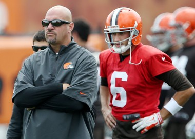 Browns coach Mike Pettine and quarterback Brian Hoyer are two guys with something to prove this season.
