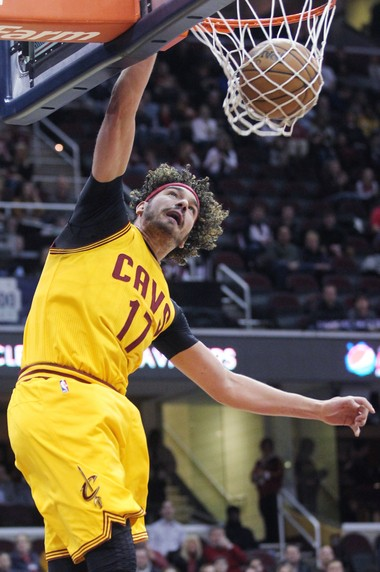 Anderson Varejao has had a good summer playing for Brazil's national team.