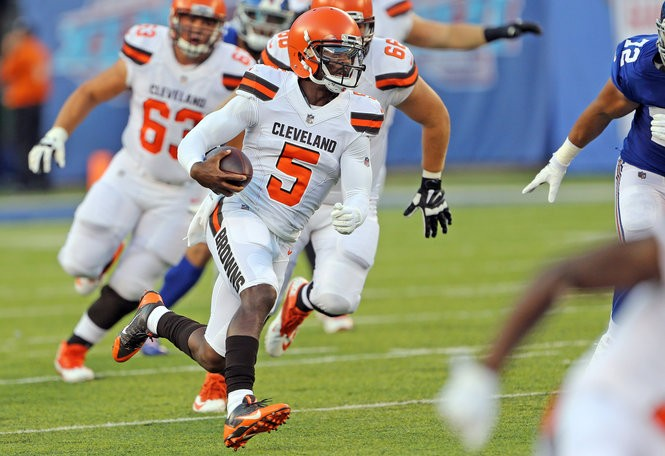 Quarterback Tyrod Taylor had an impressive debut with Browns.