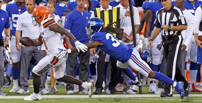 Cleveland Browns wide receiver Antonio Callaway has so much natural talent as he showed in the first preseason gsme.