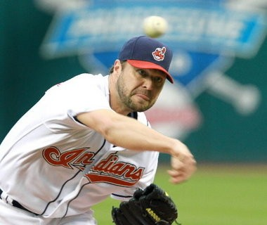 After signing a three-year, $33 million contract extension with the Tribe, Jake Westbrook had arm problems and won only seven more games for Cleveland before being traded.