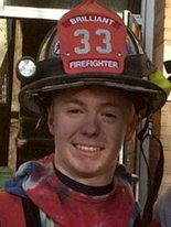 Meet Brendan Bobo, a firefighter from Brilliant.