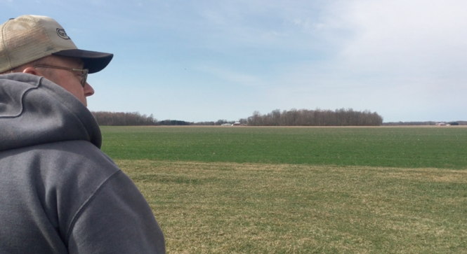 Roger Lange, a Seneca County farmer, wants the government to spend its money wisely.