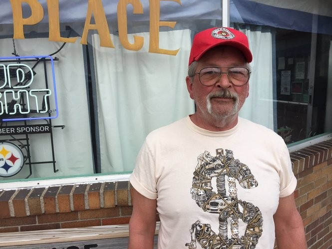 Scott Everly, a 66-year-old Clinton voter from Toronto