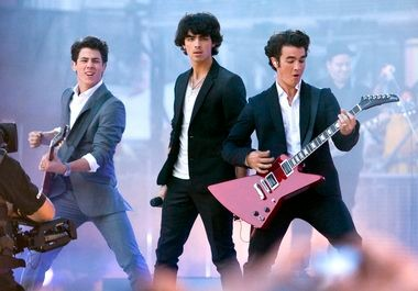 The Jonas Brothers -- from left, Nick, Joe and Kevin -- have a new album ready to hit the streets this fall. Nick, who produced it, said it shows the continued growth of the band that headlines Blossom Music Center on Tuesday.