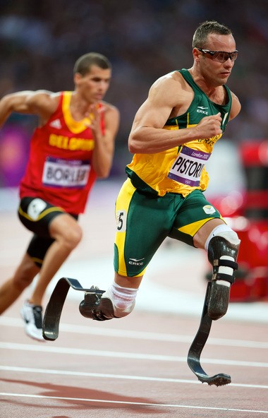 Advanced prosthetic limbs like the carbon fiber blades worn by Olympic sprinter Oscar Pistorius are attached to the body with cuffs and straps that can cause discomfort or worse.