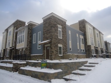 """The first phase of The Townhomes of Van Aken was recently completed, with a model unit available for touring in the Community Reinvestment Area known as """"Transit Village."""""""