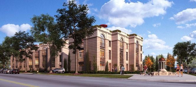 Brickhaus Partners principal Alexandra Yonkov's projects include this Lake Avenue development in Cleveland's Edgewater neighborhood.