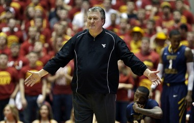 Bob Huggins' courtside tirades are legendary, although he has toned down his histrionics in recent years.