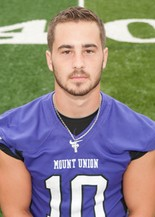 Mount Union junior quarterback Kevin Burke, of Westlake, has rushed for 1,033 yards and 10 TDs while completing 63 percent of his passes this season.
