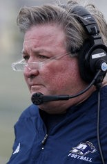 Akron head coach Terry Bowden.