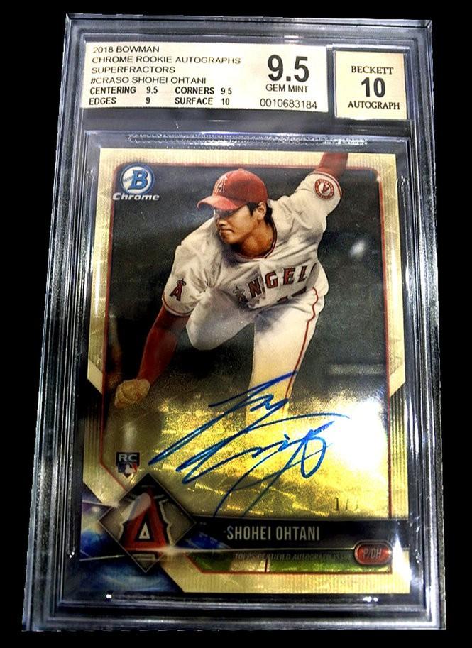 Rare Shohei Ohtani Baseball Card Valued At 100k Featured At