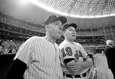 6373f2da5ea Hall of Famers Bob Feller and Joe DiMaggio created a rivalry for the ...