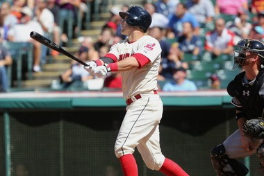 Yan Gomes is making the Tribe happy that they signed him to a long-term deal.