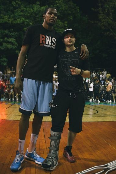 cc3fb7c160f An historic night at New York s Rucker Park with Kevin Durant and a ...