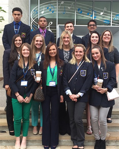Twelve students from Strongsville High School qualified as finalists for the DECA International Conference.
