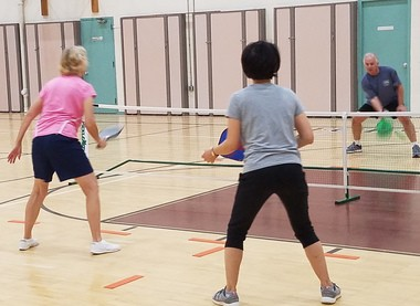 Residents came to a recent committee meeting to appeal to Middleburg city officials for outdoor pickleball courts. File photo