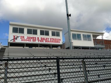 Fairview stadium will get new field turf and an electrical upgrade if city council approves two ordinances currently under consideration.