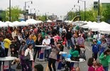 Thousands turned out for the 2013 Hooley at Kamm's Corners. Photo courtesy of Kamm's Corners Development Corp.