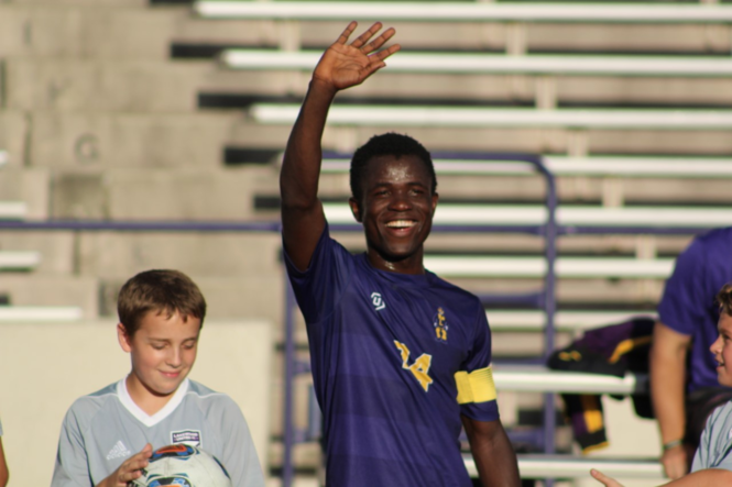 Malvin Glbah, a Lakewood High School senior, was named to the United Soccer Coaches All-America Team. Photo provided by Lakewood High School