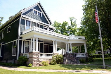 """Warren Harding launched his """"Front Porch Campaign"""" for the presidency from his Marion home in 1920."""