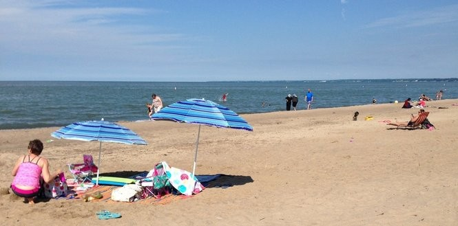 The 21 Best American Beaches Where It's Legal To Consume ...   Best Lake Erie Beaches Ohio