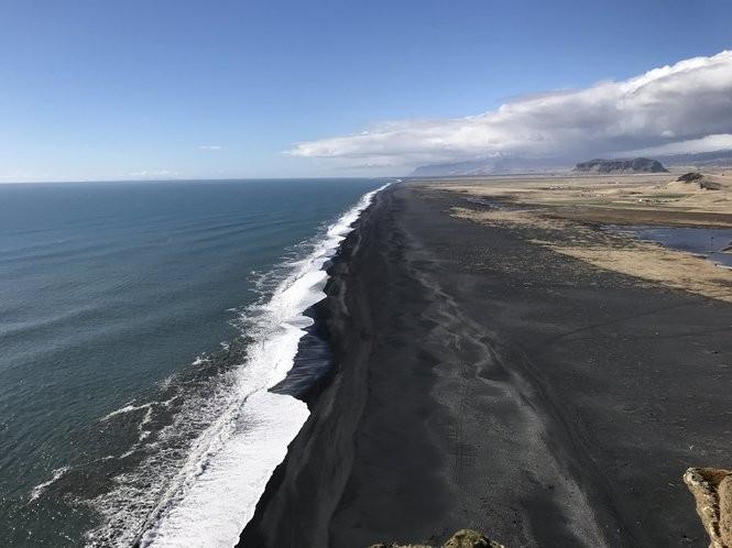 The black sand beaches near Vik, on Iceland's South Coast. (Photo courtesy Donna Marchetti)
