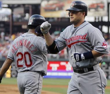"""It's been a couple of years since Russell Branyan went deep in the big leagues. But at least one Indians fan is a believer in seeing """"Russell The Muscle"""" back in a Tribe uniform."""
