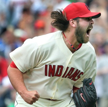 Chris Perez has 98 saves in the last three seasons for the Indians, although his ERA has risen from 1.71 ERA in 2010 to 3.59 last year.