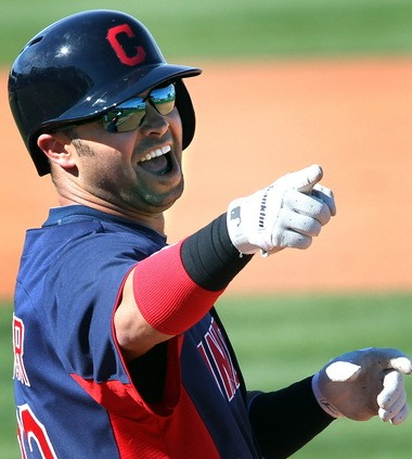 """Nick Swisher -- who else? -- organized a """"Costume Monday'' at which the Cleveland Indians did their version of the """"Harlem Shake.''"""