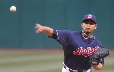Carlos Carrasco was demoted to Class AAA Columbus on Monday, but could be back to start in Friday's doubleheader against the White Sox.