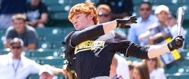 The Indians have officially signed No.1 pitch Clint Frazier.