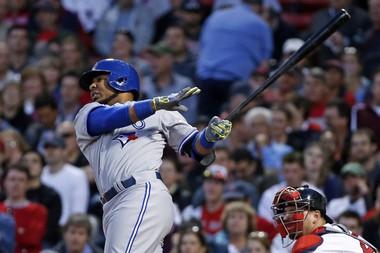 Toronto's Edwin Encarnacion has been a home-run hitting machine in May.