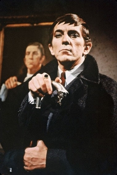 "Jonathan Frid played the reluctant vampire Barnabas Collins on the ABC daytime soap opera ""Dark Shadows."""