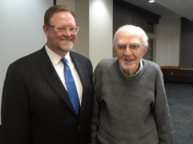 University Heights Mayor Michael Dylan has named the city's community park for involved resident Walter Stinson, 90.