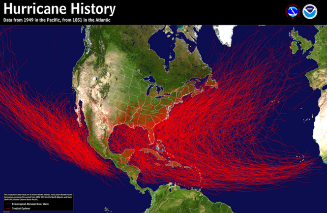 How And Why Superstorm Sandy Hit Northeast Ohio Looking Back - Us-hurricane-landfall-map