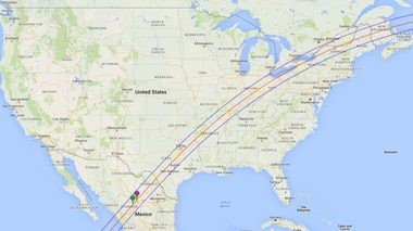Apr. 8, 2024 path of totality.