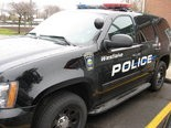 Area police detained a man after he was found heating urine to pass a pre-employment drug screening.