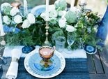 Table setting by A Charming Fete.