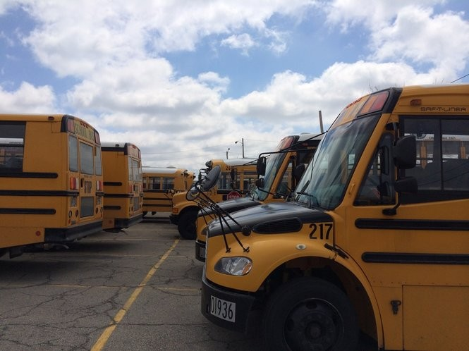 The start of the new school year means more buses and students are on the streets.