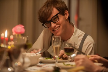 "Eddie Redmayne has a field day as the brilliant but ailing Stephen Hocking in ""The Theory of Everything."""