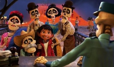 """Little Miguel sees dead people in """"Coco."""""""