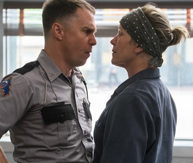 Rockwell and McDormand strut some serious stuff.