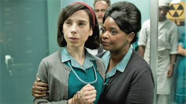"Sally Hawkins and Octavia Spencer work in a secret, experimental laboratory in ""The Shape of Water."""