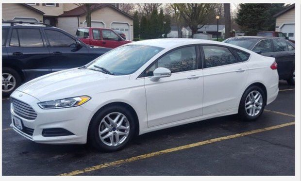 Police believe shooting suspect Steve Stephens is driving a later-model white Ford Fusion with the temporary tag of E363630.