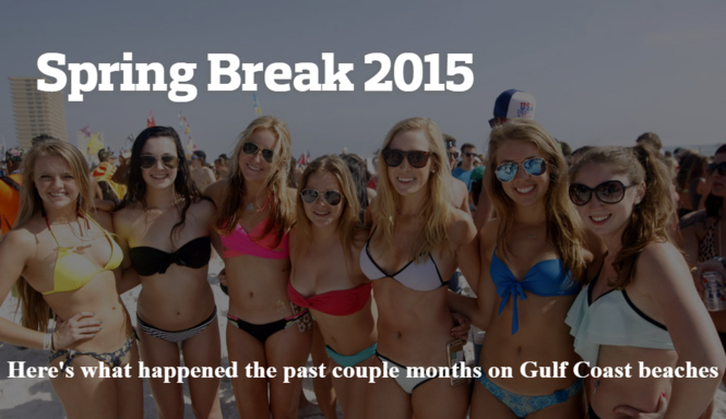 Rewind: Spring Break 2015 on the Gulf Coast - gulflive com