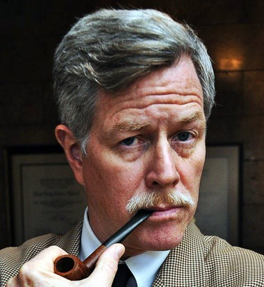 Dr. John Anderson as William Faulkner